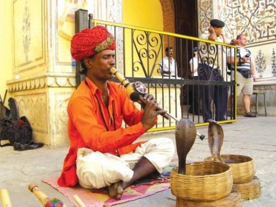 Gautam Adani a snake charmer