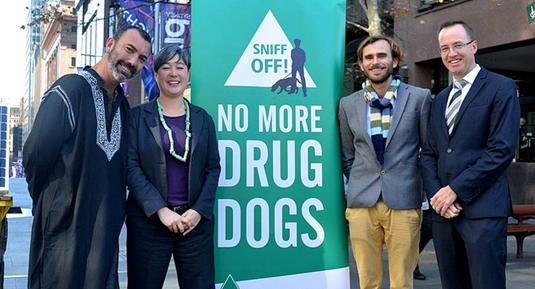 No More Drugs Dogs when there are no more drugs