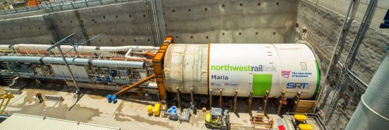 Sydney's North West Rail Link imports Spanish steel