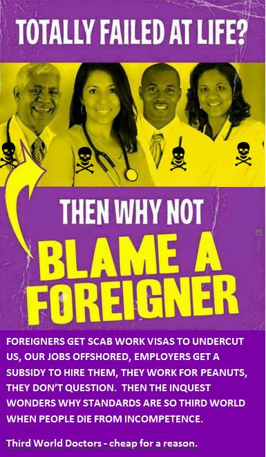 Blame a Foreigner