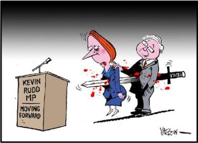 Rudd Gillard Backstabbing