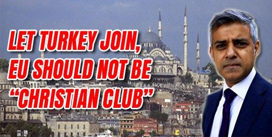 Sadiq Khan making UK muslim