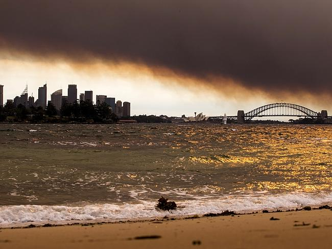 Sydney Smoke like Beijing