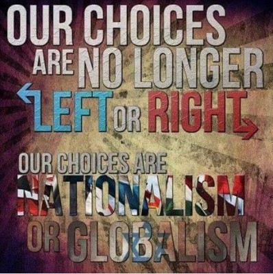 The Left and Right are both Globalist