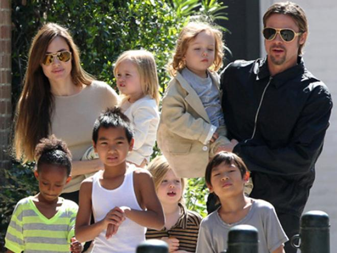 10 interesting facts about Brangelina