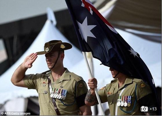 Australian Sacrifice Saluted