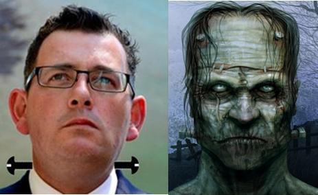 Frankenstein Premier Daniel Andrews