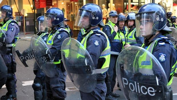 Welcome to Melbourne, home of riots