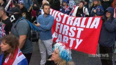 AFP Reclaim Australia