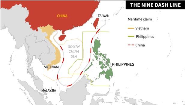 Nine Dash Line South China Sea