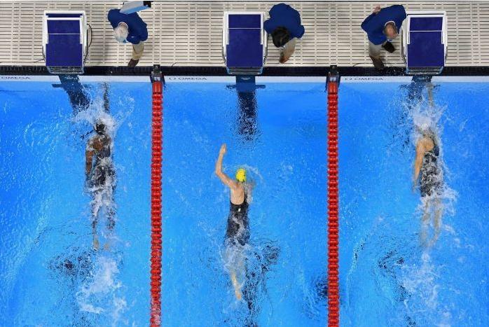 2016 Rio Olympics Women's 100 Freestyle Finish