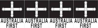 Eureka Flag logo of Australia First Party