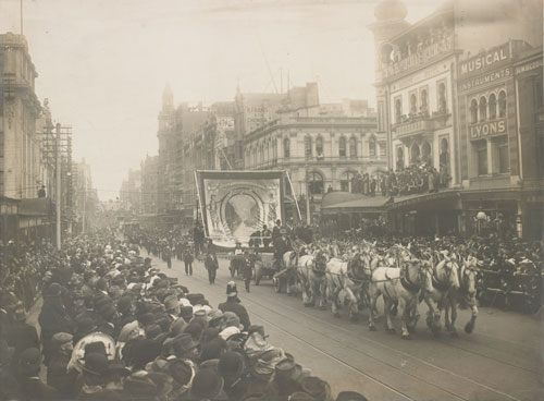 Eight Hours Day Procession April 17th, 1914