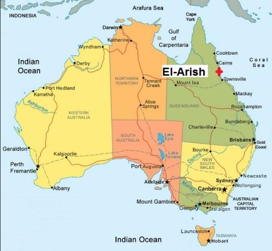 Australia. El-Arish