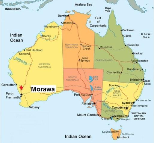 Australia. Morawa