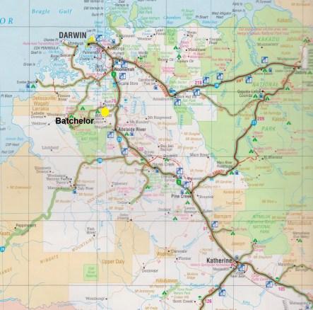 Map. Batchelor