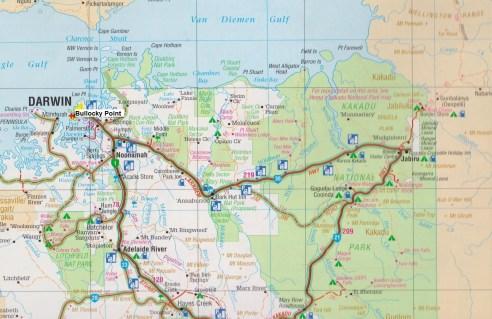 Map - Bullocky Point