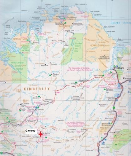 map Glenroy