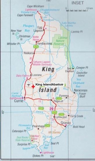 Map - King Island 001