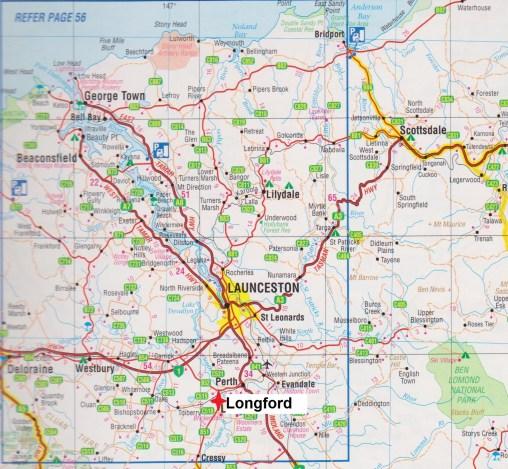 Map. Longford