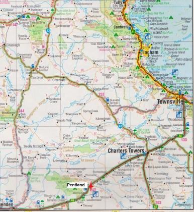 Map -Pentland