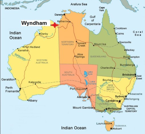 Map Wyndham