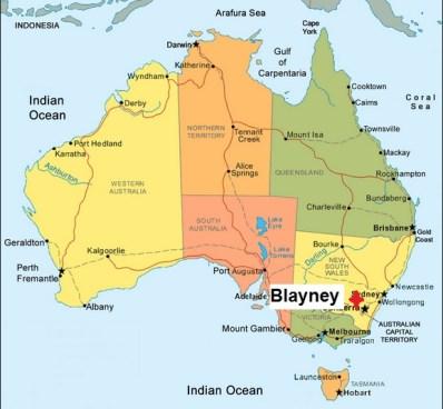 Australia. Blayney