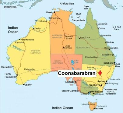 Australia. Coonabarabran