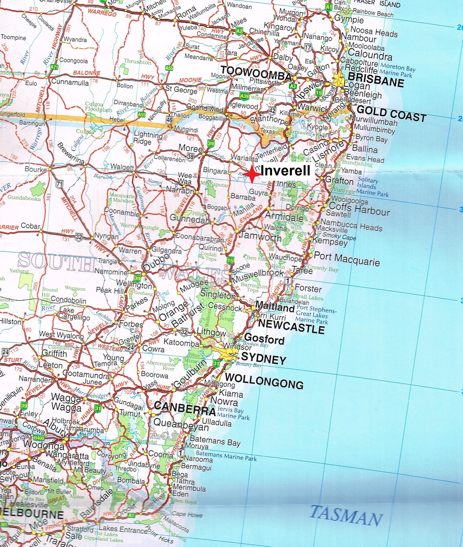 Hema Maps – Australia Truckies atlas.