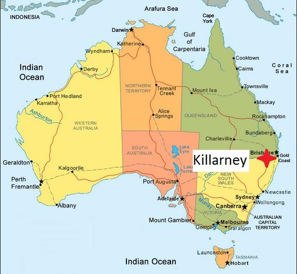 Australia. Killarney 06.04.2017