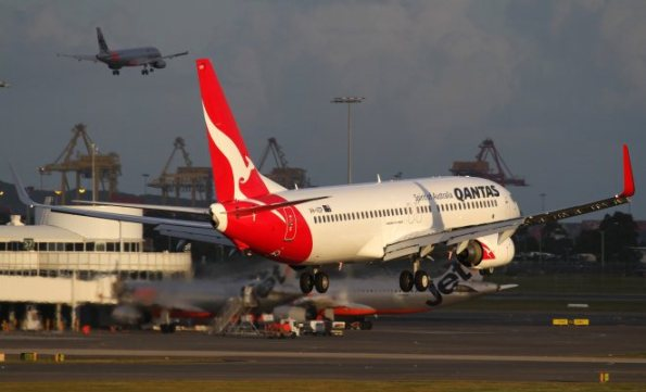 Qantas led on-time performance on average, but Jetstar consistently flew fewer on-time services. (Seth Jaworski)