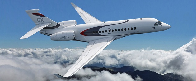 The Falcon 5X should fly in 2015.