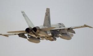 A RAAF classic Hornet. (Defence)
