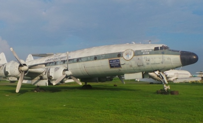Another look at the Super Constellation. (Qantas Founders Museum)