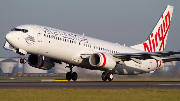 A Virgin Australia Boeing 737-800 at Sydney Airport. (Seth Jaworski)