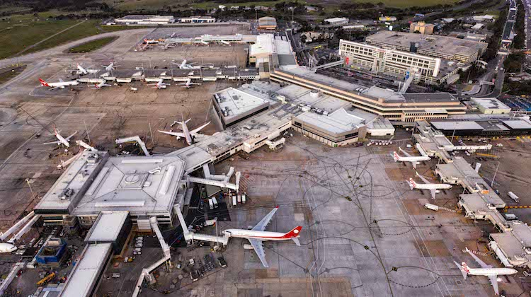 An aerial shot of Tullamarine. (Melbourne Airport)
