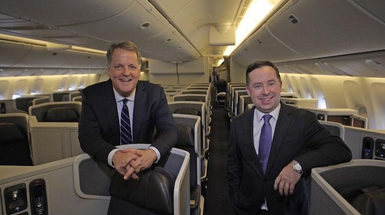 American Qantas CEOs on 77W