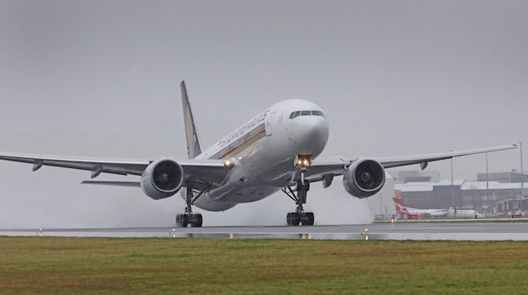 Singapore Airlines launched Singapore-Canberra-Wellington flights in September. (Canberra Airport)