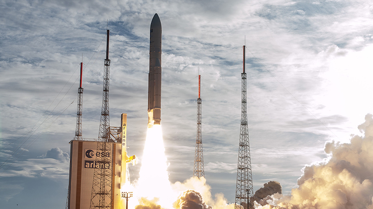 Arianespace's Ariane 5 launcher that launched nbn co's Sky Muster II satellite. (nbn co)