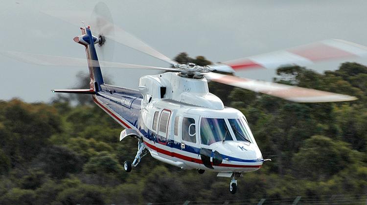 Esso Australia's Sikorsky S-76C, VH-EXU. (ATSB)