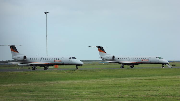 Jetgo has two Embraer ERJ-140LR in its fleet. (Jetgo)