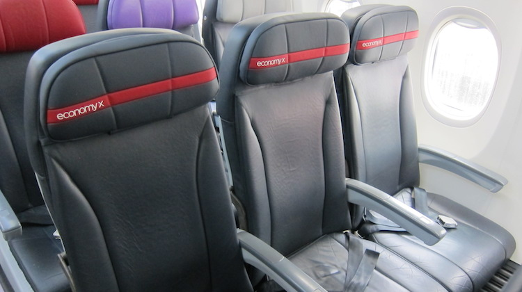 Virgin Australia has launched a new Economy X product across its fleet. (Jordan Chong)