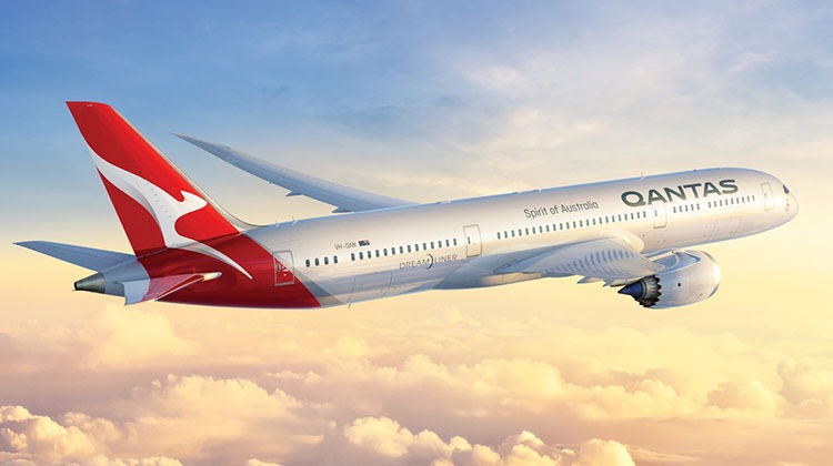 Qantas will take delivery of its first Boeing 787-9 in mid-October. (Qantas)
