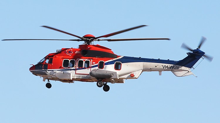 A file image of a CHC Helicopters EC225LP. (Paul Sadler)