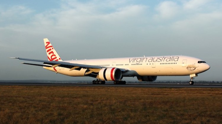 Virgin Australia has equipped its five Boeing 777-300ERs with inflight internet Wi-Fi. (Rob Finlayson)