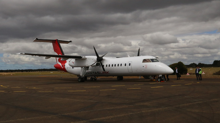 QantasLink returned to Kangaroo Island in December 2017. (Ryan Hothersall)