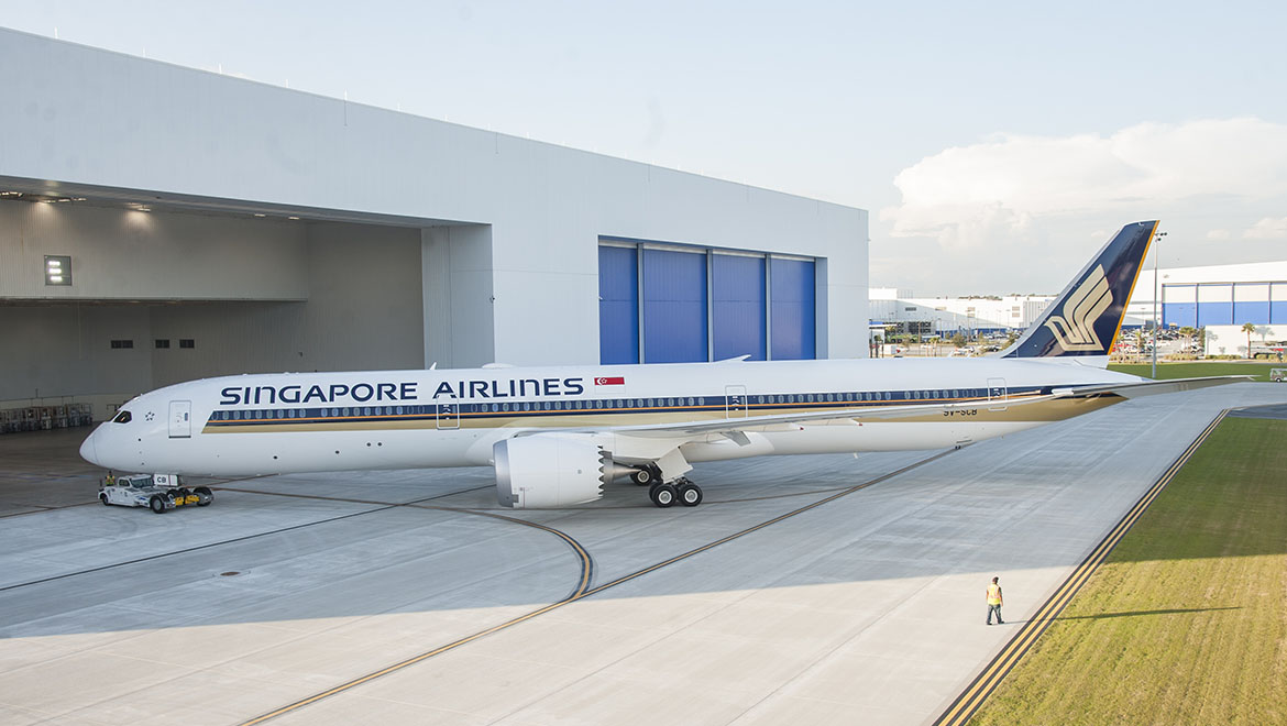SIA grounds two Boeing 787-10s over engine issues