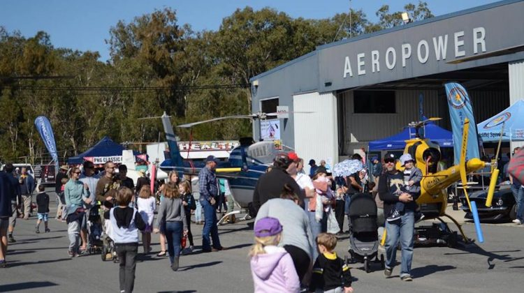 Scenes from the 2017 World Helicopter Day event at Redcliffe Aerodrome. (Aeropower Flight School/Facebook)