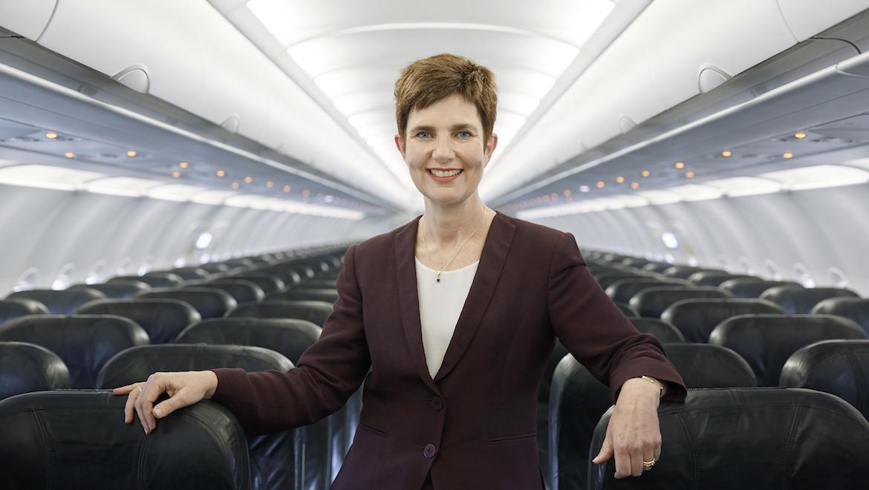 A file image of Tigerair Australia chief executive Merren McArthur. (Tigerair Australia)