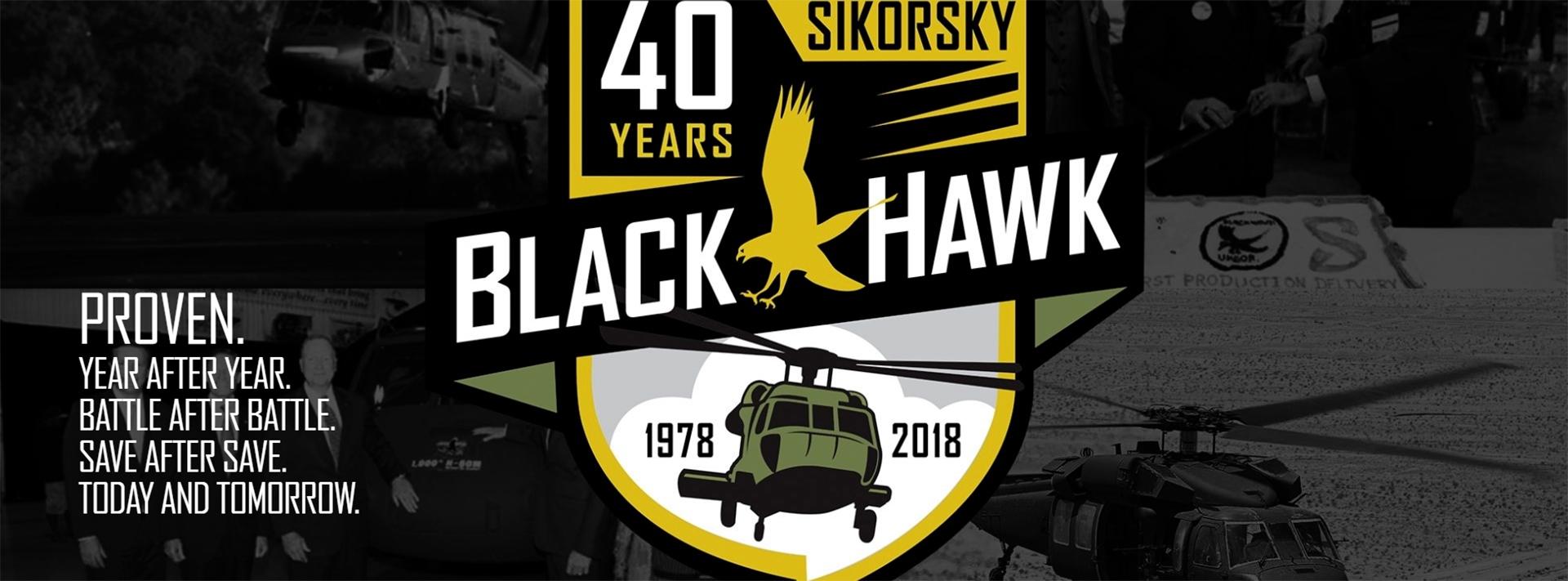 Sikorsky is celebrating 40 years of the Black Hawk in 2018. (Sikorsky)